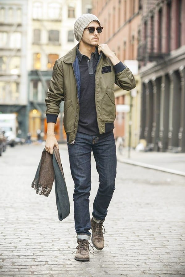 Bomber Jacket Ideas for Men To Rock This Winter