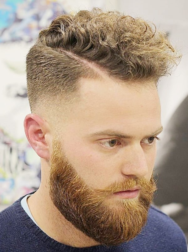 26 Stylish Curly Fade Hairstyles For Men To Try