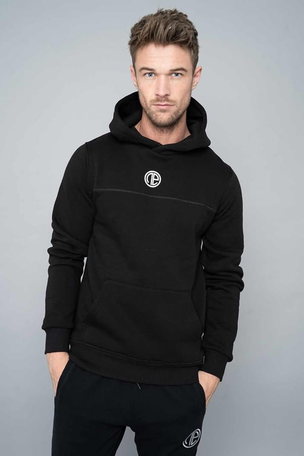 Gentle Black Hoodie Ideas for Men To Look Stylish