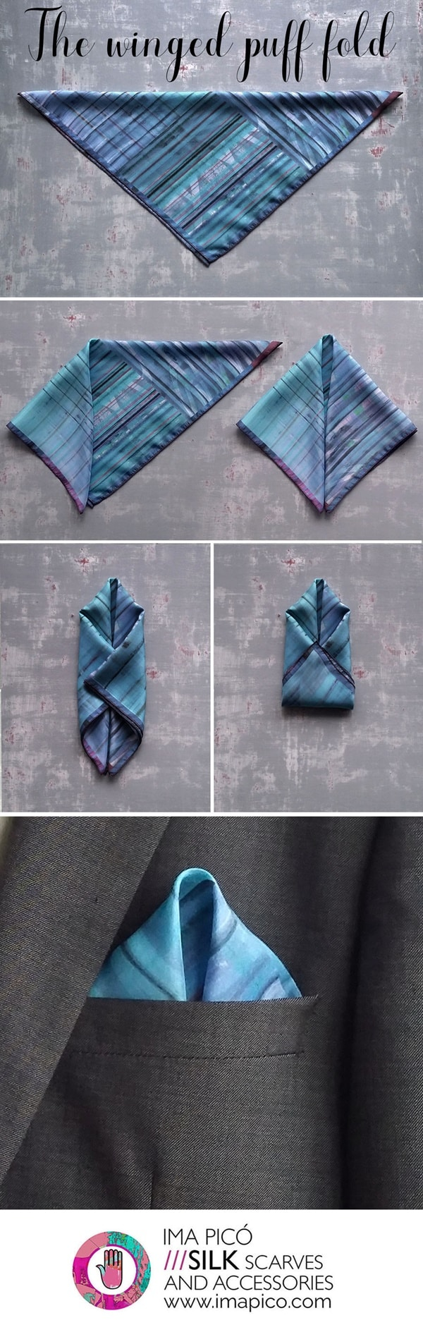 Simple Ways To Fold A Pocket Square
