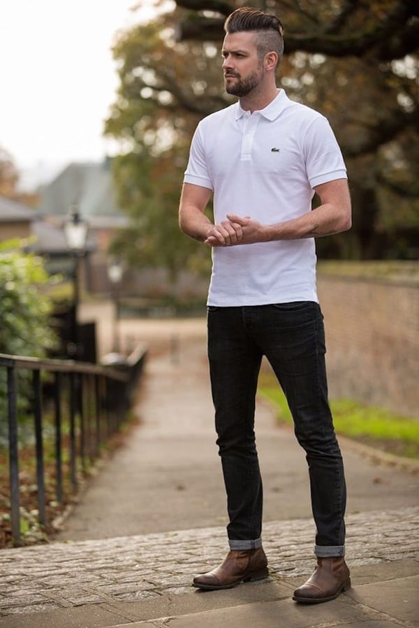 Black Jeans Outfit Ideas For Men