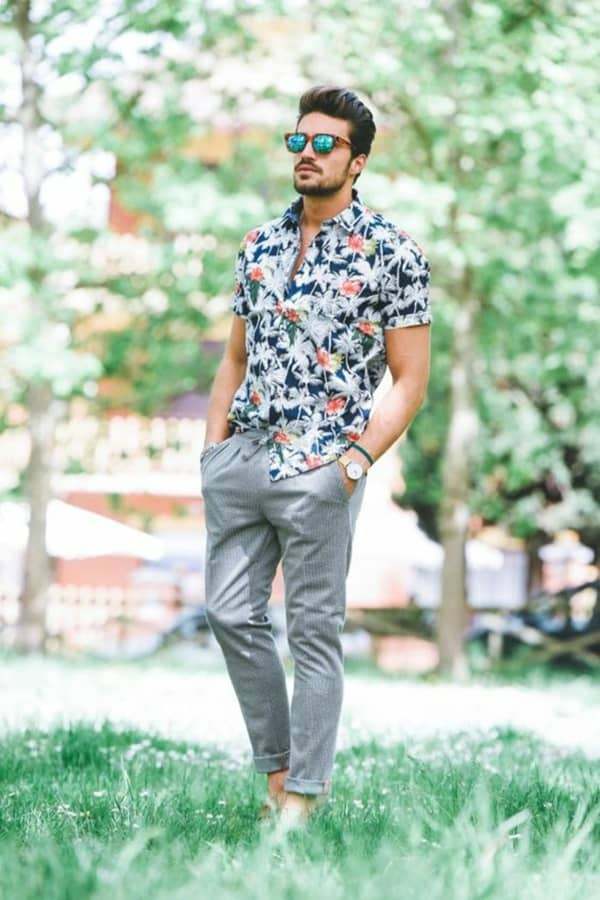 Casual First Date Summer Outfit Ideas For Him
