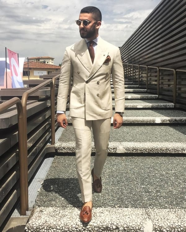 Men's Double Breasted Suit Ideas