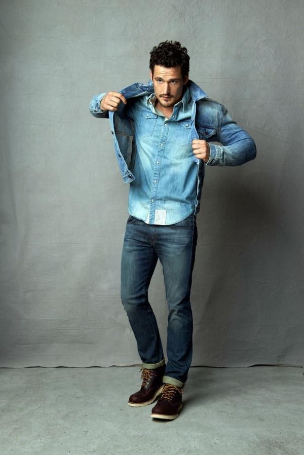 Stylish Denim Shirt Outfits For Men