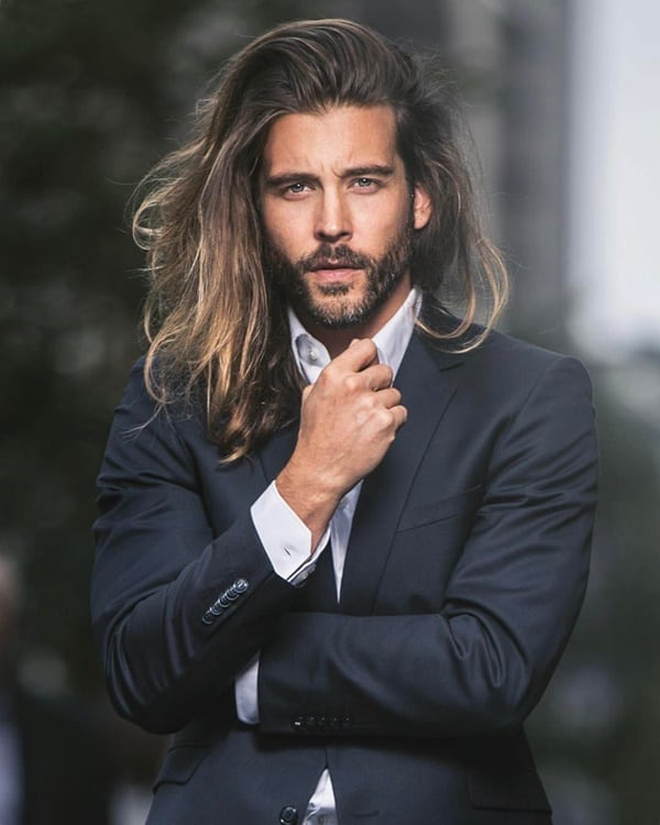 Amazing Beard Styles With Long Hair For Men