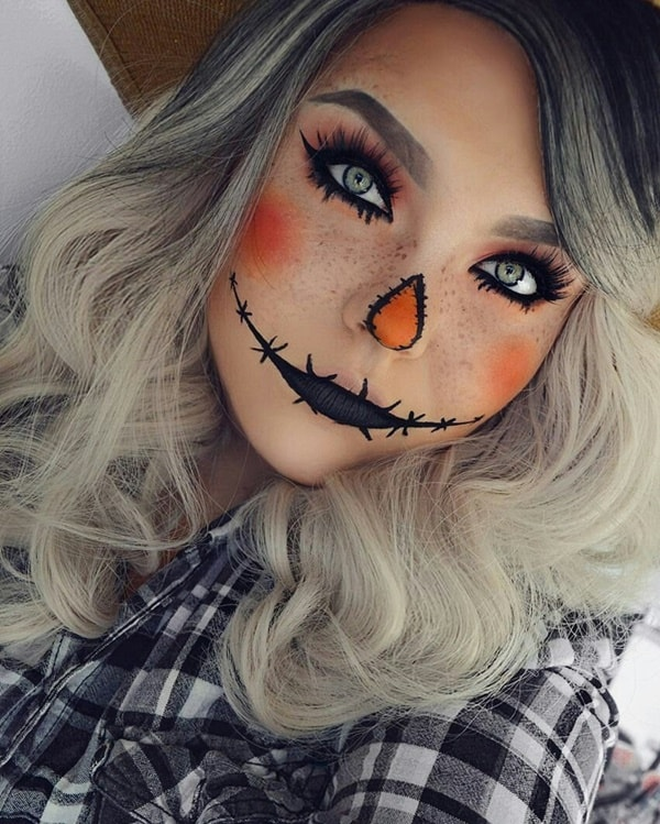 78 Easy Halloween Face Painting Ideas For Adults Fashion Hombre