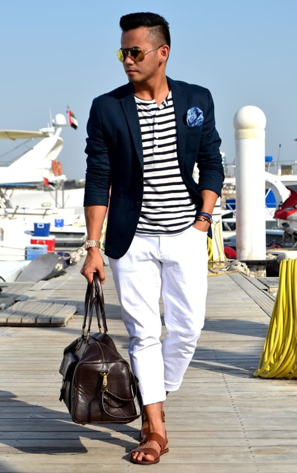 Fresh Dark Blue Blazer Outfit Ideas For Men