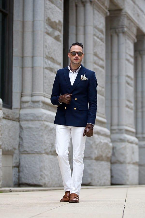 Fresh Dark Blue Blazer Outfit Ideas For Men