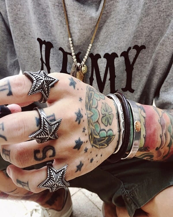 Simple Star Tattoo Designs For Guys