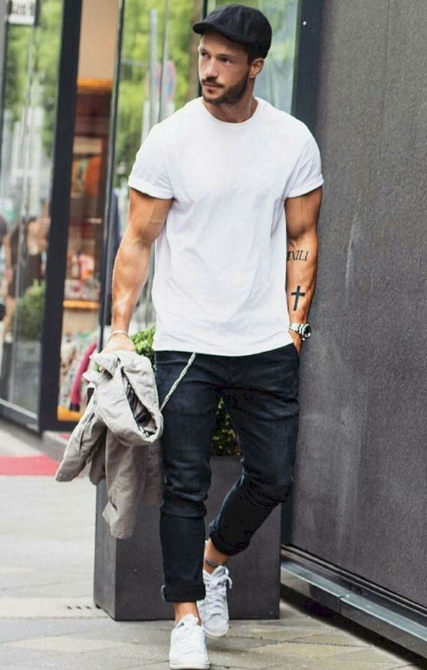 Ways To Wear a Round Neck T-Shirt In Style