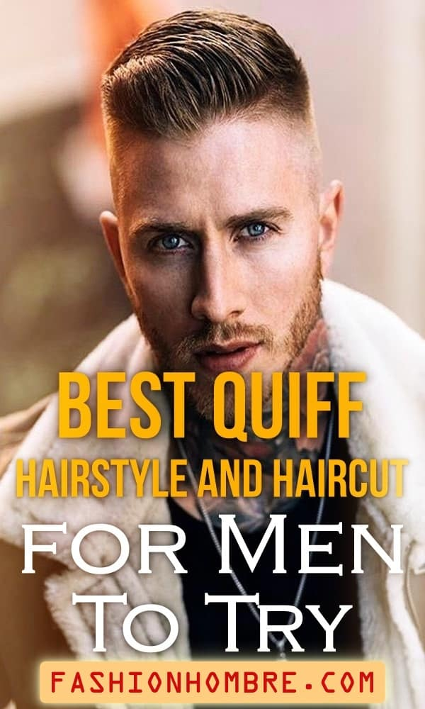 Quiff Hairstyle And Haircut For Men