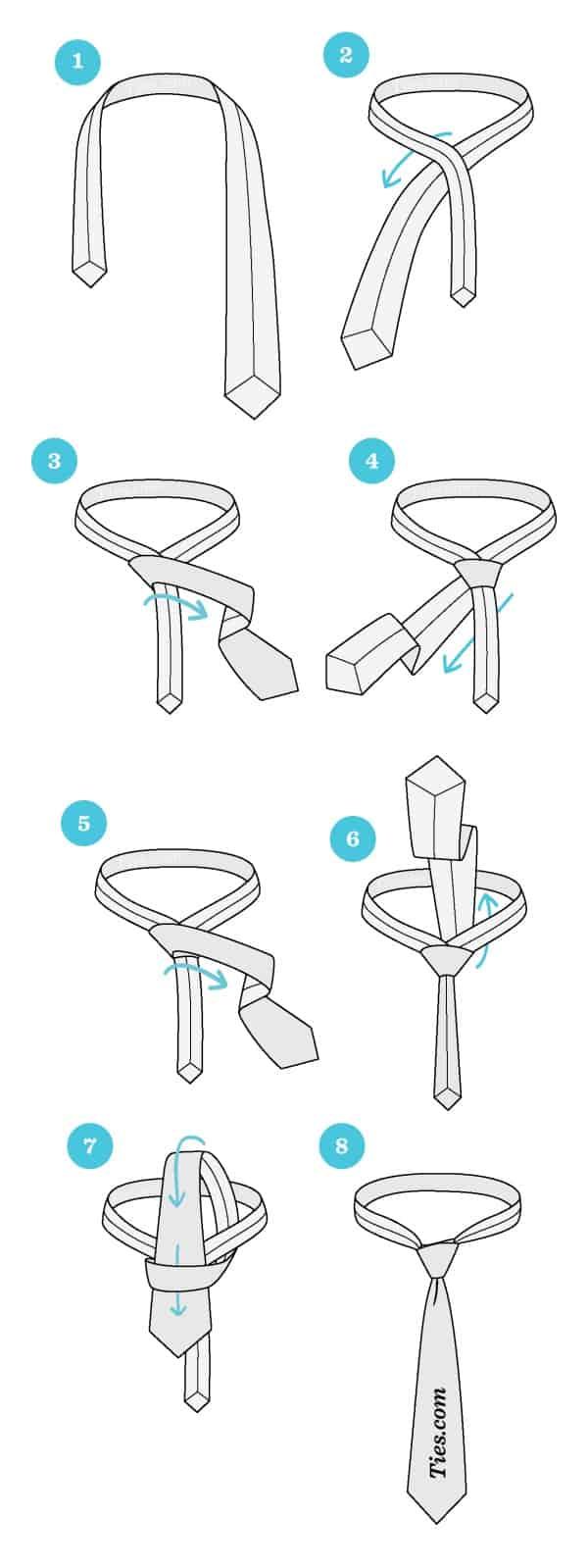 Stylish Different Ways To Tie a TieStylish Different Ways To Tie a Tie