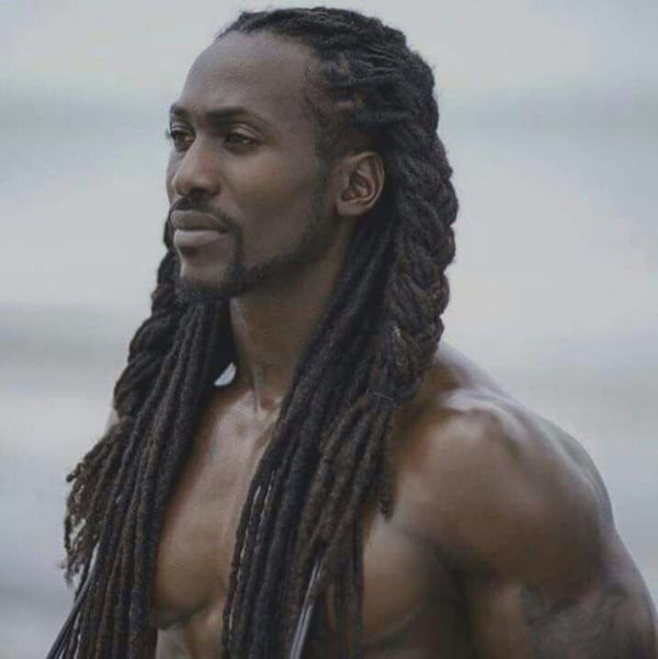 50 cool hairstyles for black men with long hair  fashion