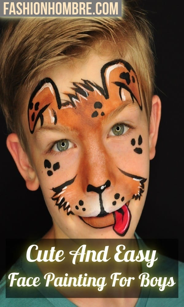 Easy Face Painting For Boys