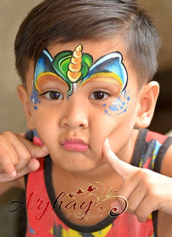 Easy Face Painting Ideas For Boys