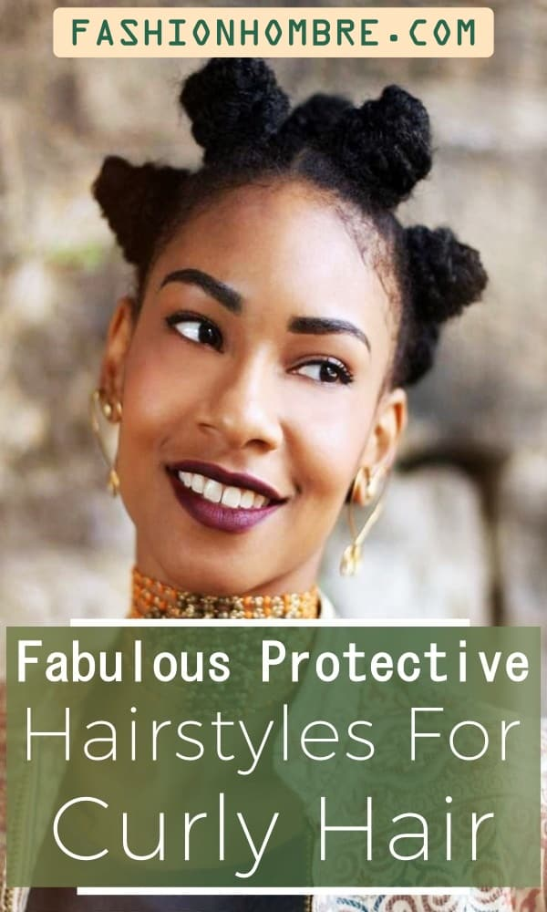 70 Easy Protective Hairstyles For Natural Hair Fashion Hombre