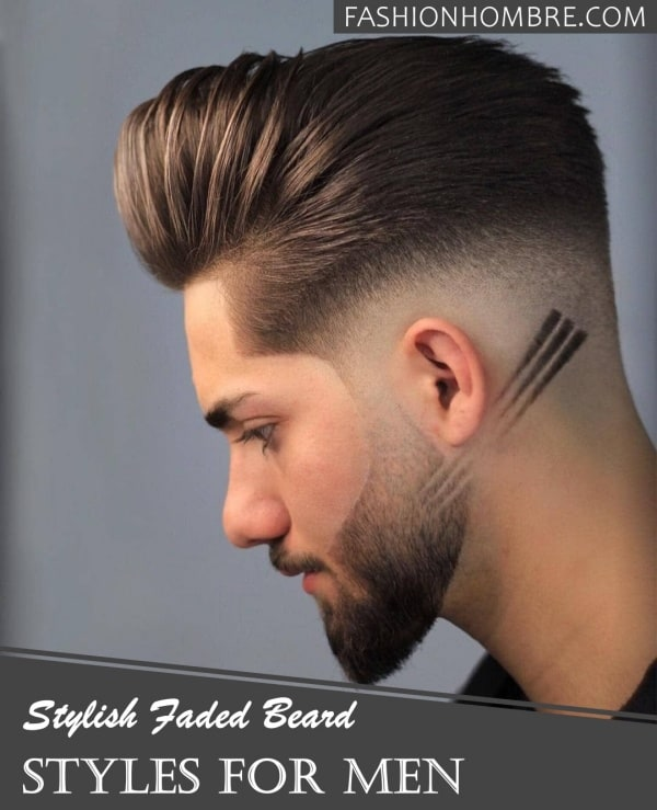 Stylish Faded Beard Styles For Men