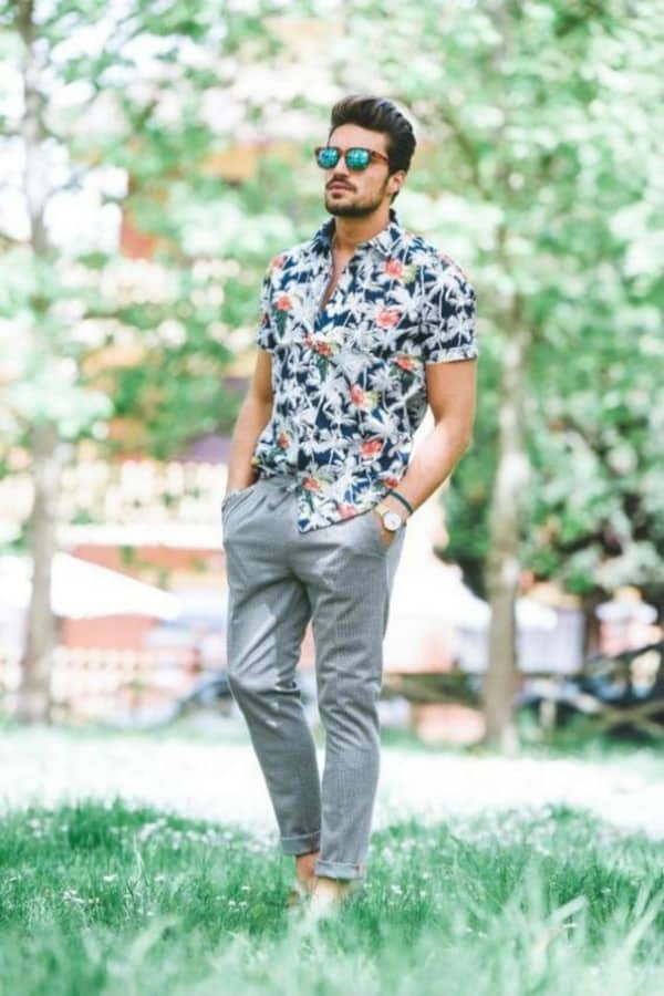 Stylish Printed Shirts Outfit Ideas For Men