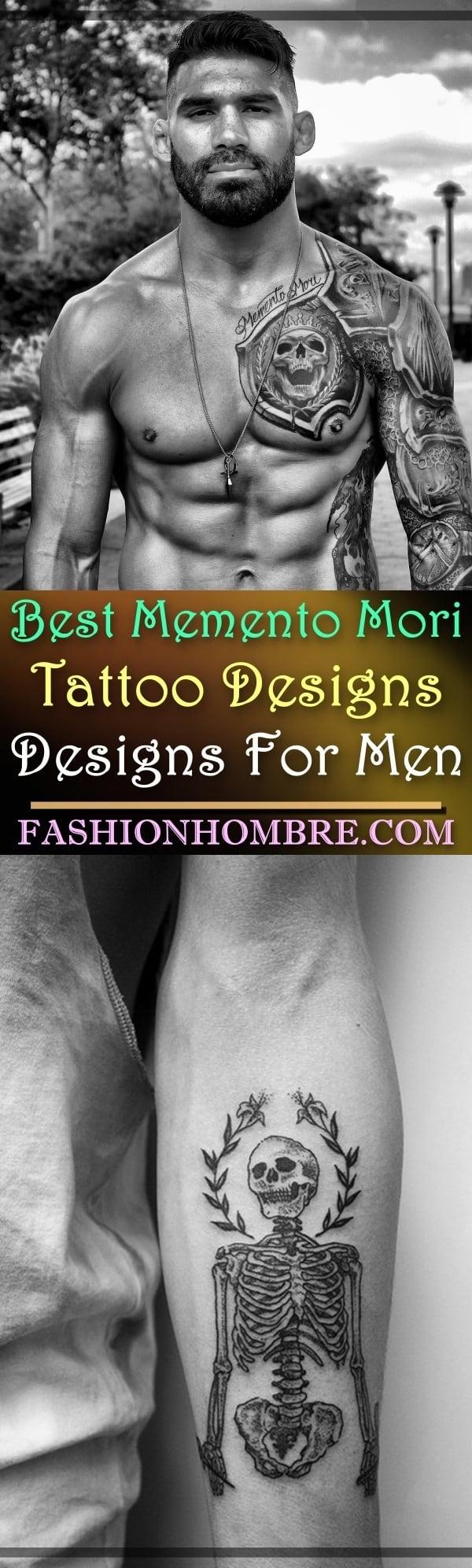Best Memento Mori Tattoo Designs For Men