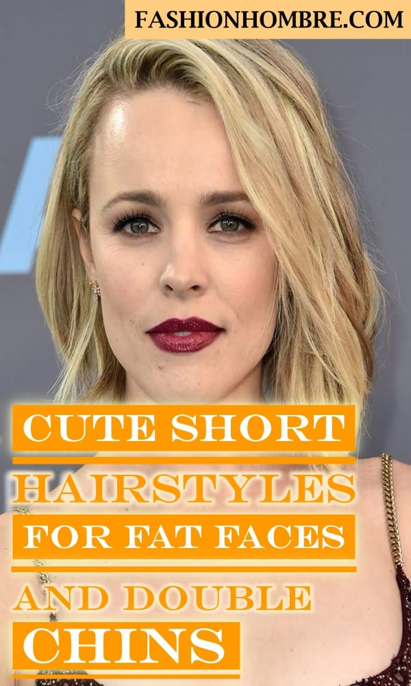Cute Short Hairstyles For Fat Faces And Double Chins To Copy