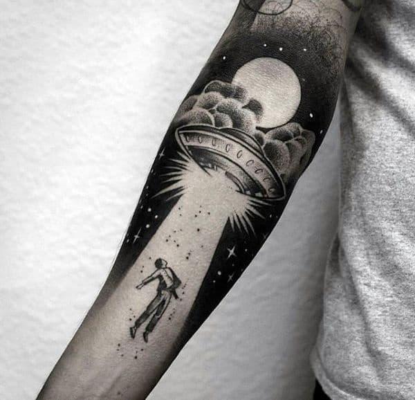 Gorgeous Negative Space Tattoo Designs