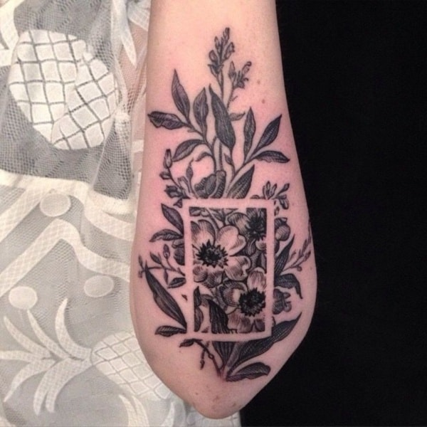 Gorgeous Negative Space Tattoo Designs