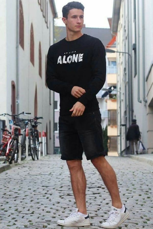 Super Stylish All Black Outfit Ideas For Men
