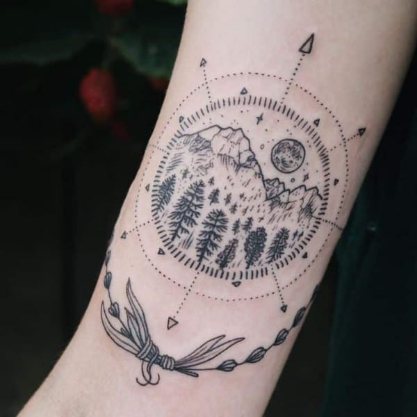 Best Mountain Tattoo Designs And Ideas