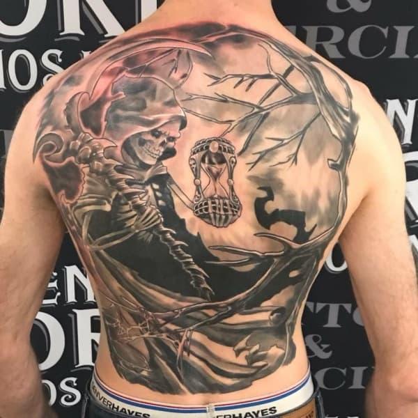 Memento Mori Tattoo Designs For Men