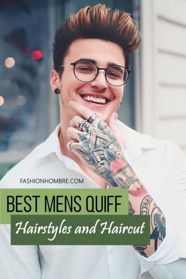 Best Mens Quiff Hairstyles and Haircut