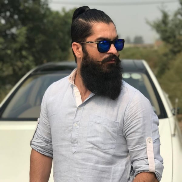 Cool Hairstyles For Men With Beards