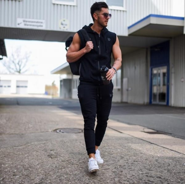 all black outfits for men