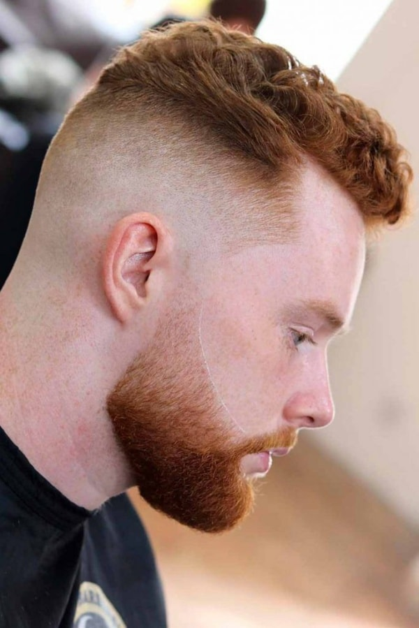 curly fade hairstyles