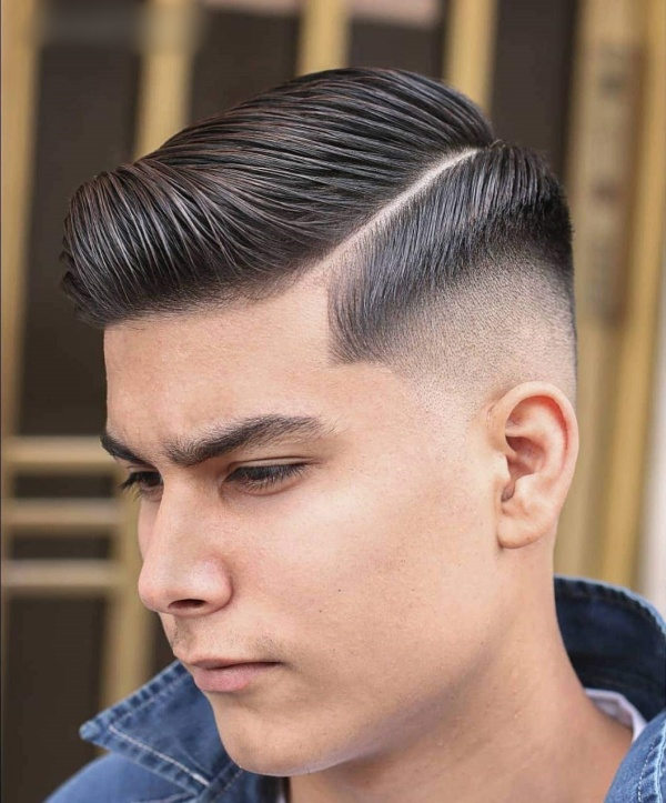 hairstyles for men with round faces